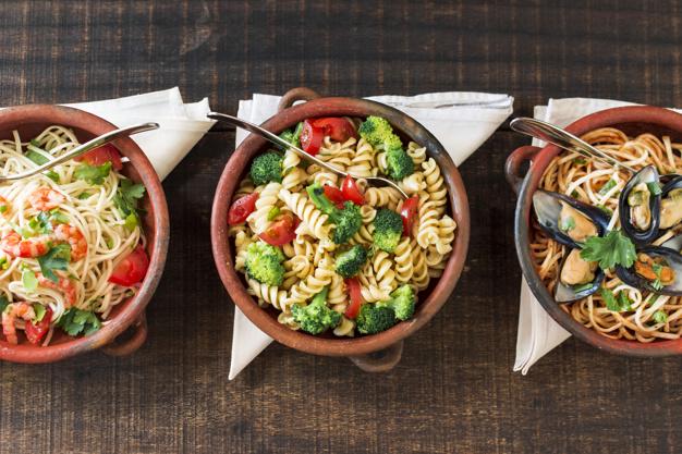 Mahlzeit food varianten